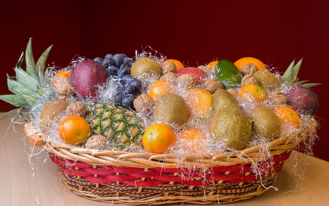La vendita all'ingrosso di cesti natalizi da S.G. ha il sapore delle feste!
